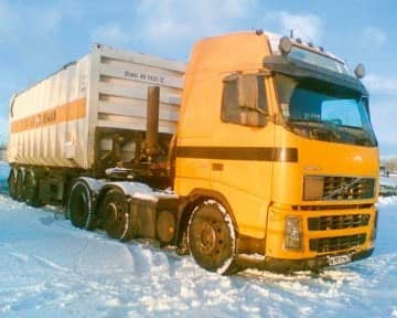 A fleet of Russian trucks is established at this subsidiary. The containers, which mostly arrive via short sea shipping from Rotterdam or Hamburg to St Petersburg, are distributed as far as the Urals and the Black Sea.